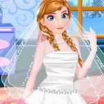 Anna Frozen Wedding Prep