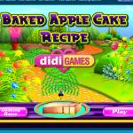 Baked Apple Cake Recipe