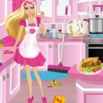 Barbie Kitchen Cleanup