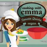 Cooking with Emma: Tomato Quiche