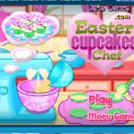 Easter Cupcakes Chef