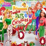 Princesses Twelve Days of Christmas