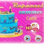 Rapunzel Summer Cake
